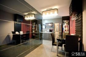 后现代风格室内餐厅设计装修效果图