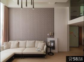 客厅沙发背景墙壁纸
