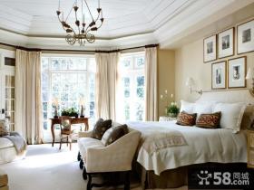 经典古典欧式风格卧室装修效果图大全2014图片