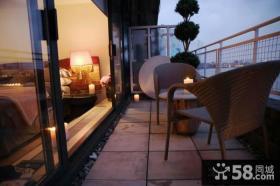 美式风格室内阳台图片