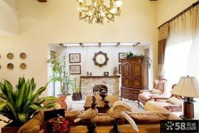 东南那亚风格别墅室内装潢效果图片