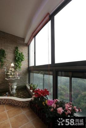 室内阳台花园设计效果图