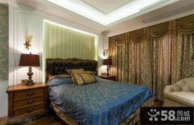 简单欧式卧室床头灯具装饰