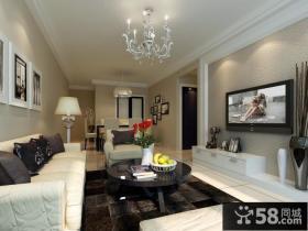 现代风格室内电视背景墙装修效果图大全2013图片