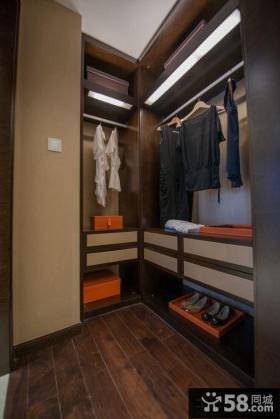 新古典设计装修卧室衣柜图片欣赏