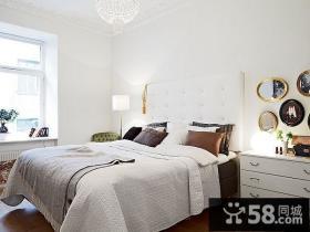80后7万轻松打造小户型卧室装修效果图大全2012图片 简约风格小户型卧室装饰图片