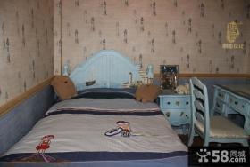 儿童卧室壁纸装修效果图大全2013图片