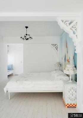 简约复式家装设计卧室效果图片