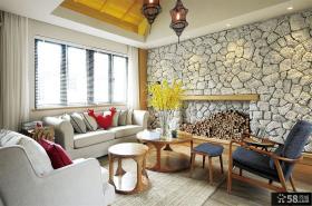混搭风格家居复式房屋室内装修设计