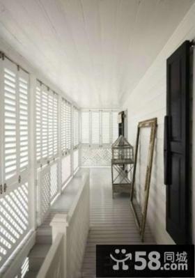 现代封闭式阳台设计