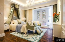欧式样板房卧室装修效果图欣赏