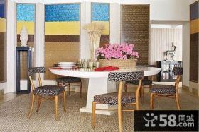 瑞典北欧风格复式楼餐厅装修效果图大全2012图片