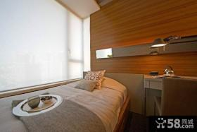 现代风格小卧室装修设计图