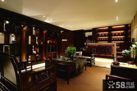 豪华古典新中式客厅装修设计