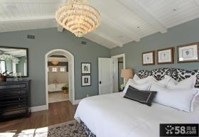 欧式主卧室装修效果图大全2013图