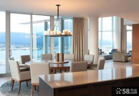 温哥华300平米豪华别墅餐厅装修效果图大全2012图片