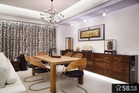 现代简约家装餐厅设计效果图大全