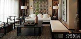 古典雅致中式客厅设计