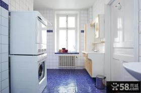 美式简约设计复式室内厨房装修图片