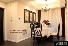 室内餐厅吊顶装修效果图片