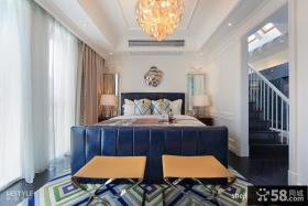 复式楼装修效果图 复式卧室吊顶装修效果图
