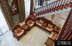 中式古典客厅装潢案例