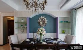 中式现代家居餐厅设计装修效果图