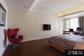 欧式风格别墅卧室设计效果图