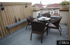 2012优质开放式阳台装修效果图