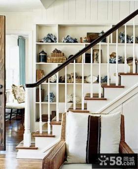 复式楼楼梯扶手效果图