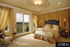 欧式古典卧室装修效果图大全2013图片
