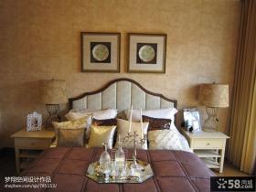 卧室照片背景墙壁纸图片