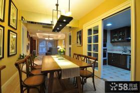 厨房隔断推拉门设计效果图