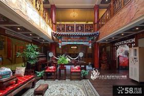 新中式别墅设计效果图大全