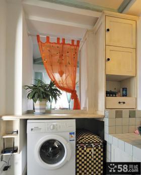 阳台洗衣房设计效果图欣赏