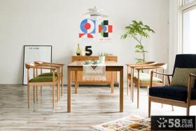 家庭餐厅北欧家具设计
