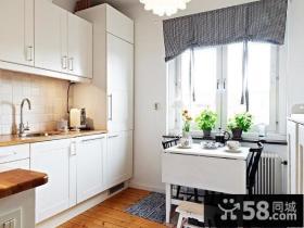 厨房实木橱柜家具图片