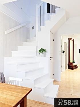 2013小复式楼梯装修效果图片欣赏