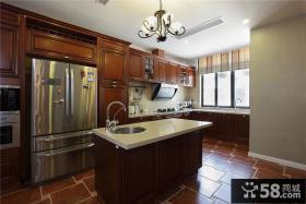 欧式风格别墅厨房装饰效果图