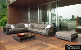 东南亚风格阳台家具