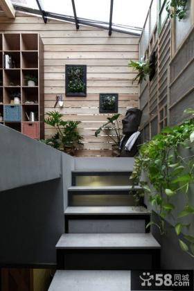 家庭装修设计露天阳台图片