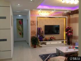 小户型客厅电视墙装修设计