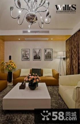 客厅沙发背景墙效果图2013