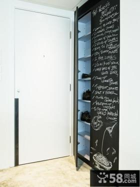 鞋柜设计效果图大全