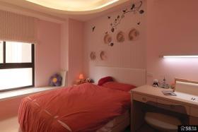 粉色卧室装修图片