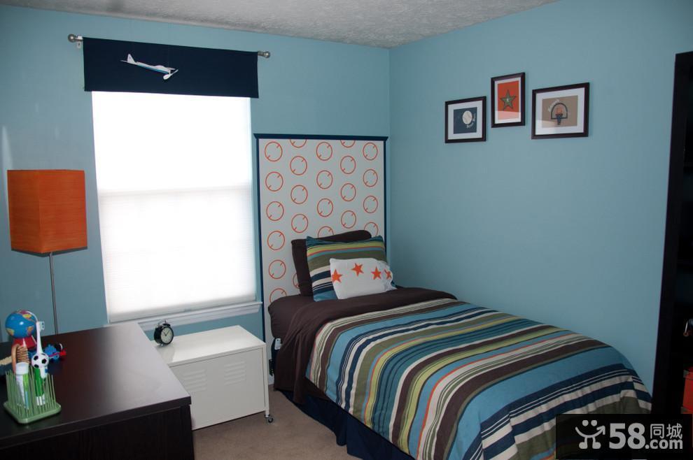 男孩卧室装修效果图