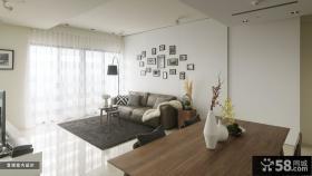 简约风格小户型客厅装修设计图