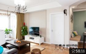 现代壁纸电视背景墙效果图欣赏