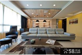 现代风格大户型三居室装饰效果图