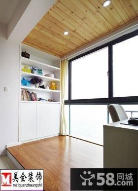 室内阳台木地板图片